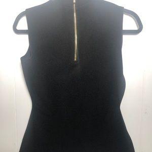 Womens Black Sleeveless Top. Size XS.Calvin Klein.